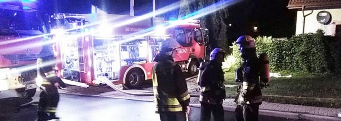 Pożar na Rydułtowskiej w Radlinie. Z płonącego budynku wyniesiono kota - Serwis informacyjny z Wodzisławia Śląskiego - naszwodzislaw.com