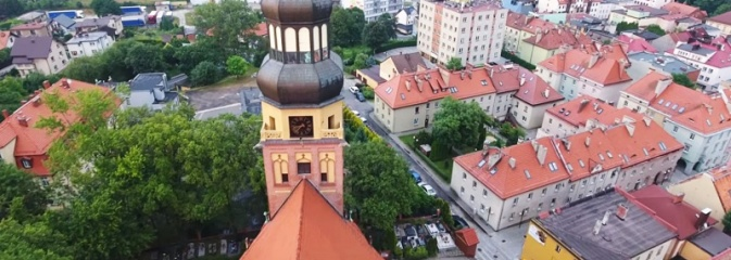 Wodzisław z innej perspektywy. Zobaczcie Stare Miasto w oku drona - Serwis informacyjny z Wodzisławia Śląskiego - naszwodzislaw.com