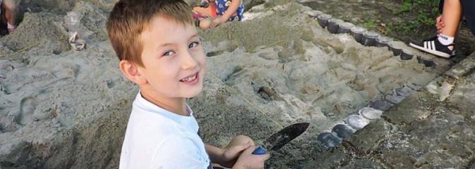 Odkrywali skarby w parku miejskim  - Serwis informacyjny z Wodzisławia Śląskiego - naszwodzislaw.com