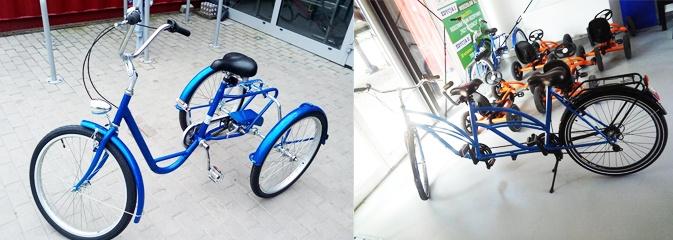 Rower dla niepełnosprawnych i tandem. Wypożyczalnia na Trzech Wzgórzach wzbogaciła się o nowy sprzęt  - Serwis informacyjny z Wodzisławia Śląskiego - naszwodzislaw.com