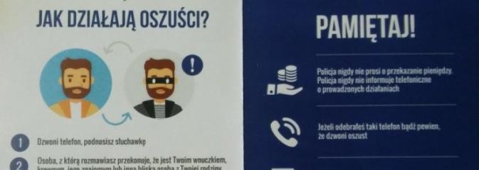 Kolejne oszustwo na policjanta. Uważajcie! - Serwis informacyjny z Wodzisławia Śląskiego - naszwodzislaw.com