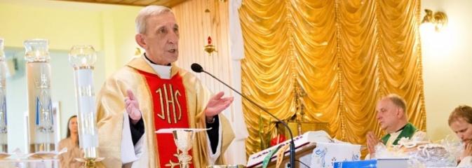 Marklowice: Podziękowali za 30 lat istnienia parafii  - Serwis informacyjny z Wodzisławia Śląskiego - naszwodzislaw.com