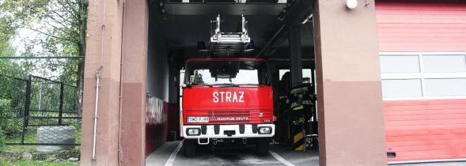 Straż rozbuduje garaż pod nowy wóz bojowy z drabiną - Serwis informacyjny z Wodzisławia Śląskiego - naszwodzislaw.com