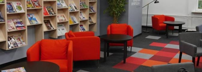 Biblioteka zaprasza do odnowionej Czytelni. Dziś odbyło się oficjalne otwarcie - Serwis informacyjny z Wodzisławia Śląskiego - naszwodzislaw.com
