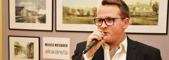 Miłosz Nosiadek zaprezentował swoje prace w radlińskim MOK-u  - Serwis informacyjny z Wodzisławia Śląskiego - naszwodzislaw.com