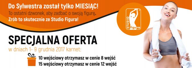Mikołajkowa promocja grudniowa w STUDIO FIGURA! - Serwis informacyjny z Wodzisławia Śląskiego - naszwodzislaw.com