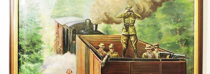 Obraz przedstawiający fragment Bitwy pod Olzą jest już w wodzisławskim Muzeum  - Serwis informacyjny z Wodzisławia Śląskiego - naszwodzislaw.com