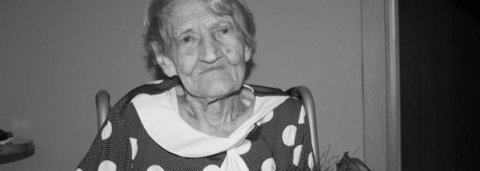 Zmarła najstarsza mieszkanka Gminy Mszana  - Serwis informacyjny z Wodzisławia Śląskiego - naszwodzislaw.com