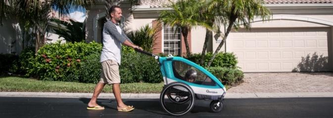 Bezpieczne przewożenie dziecka na rowerze? Postaw na przyczepkę od CampBox! - Serwis informacyjny z Wodzisławia Śląskiego - naszwodzislaw.com