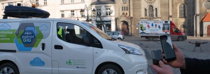 Samochód elektryczny i dron zbadają jakość powietrza w Wodzisławiu Śląskim - Serwis informacyjny z Wodzisławia Śląskiego - naszwodzislaw.com