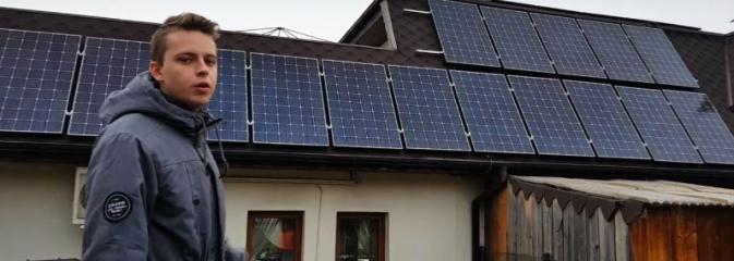 Uczniowie ZST stworzyli filmik o odnawialnych źródłach energii w naszym regionie. WIDEO  - Serwis informacyjny z Wodzisławia Śląskiego - naszwodzislaw.com