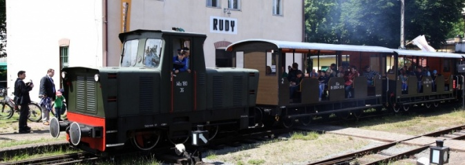 Wraz z wiosną ożywia się zabytkowa kolejka w Rudach Raciborskich - Serwis informacyjny z Wodzisławia Śląskiego - naszwodzislaw.com