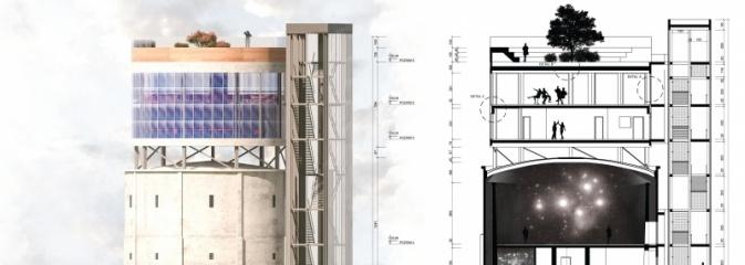 Wieża ciśnień - laboratorium nowych technologii  - Serwis informacyjny z Wodzisławia Śląskiego - naszwodzislaw.com