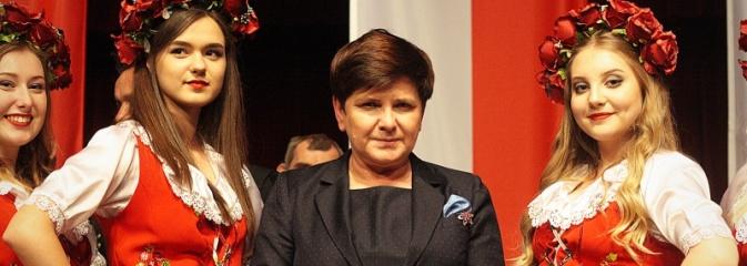 Przyjechałam tutaj, aby z państwem porozmawiać. Wicepremier Beata Szydło w Rydułtowskim Centrum Kultury - Serwis informacyjny z Wodzisławia Śląskiego - naszwodzislaw.com