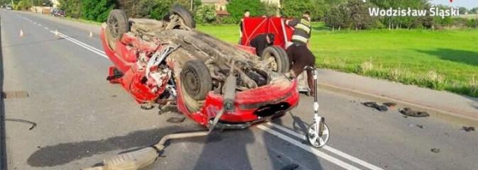 Poniósł śmierć na miejscu! Wypadek na Czyżowickiej. FOTO - Serwis informacyjny z Wodzisławia Śląskiego - naszwodzislaw.com