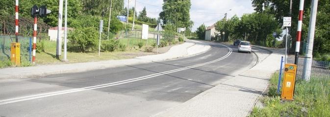 Zobacz, jak zmieniło się skrzyżowanie ul. Kopernika i Skrzyszowskiej. ZDJĘCIA  - Serwis informacyjny z Wodzisławia Śląskiego - naszwodzislaw.com