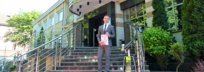 Uczeń Jedynki laureatem międzynarodowego konkursu literackiego - Serwis informacyjny z Wodzisławia Śląskiego - naszwodzislaw.com