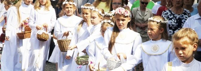 Boże Ciało w Wodzisławiu. ZDJĘCIA  - Serwis informacyjny z Wodzisławia Śląskiego - naszwodzislaw.com