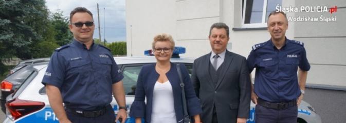 Policja podziękowała władzy z Pszowa  - Serwis informacyjny z Wodzisławia Śląskiego - naszwodzislaw.com