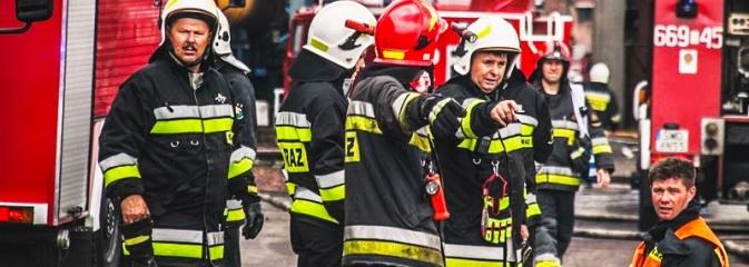 Pożar na terenie Koksowni Radlin! Ćwiczenia jednostek z powiatu wodzisławskiego - Serwis informacyjny z Wodzisławia Śląskiego - naszwodzislaw.com
