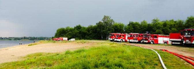 Strażacy sprawdzili czy są przygotowani do powodzi  - Serwis informacyjny z Wodzisławia Śląskiego - naszwodzislaw.com