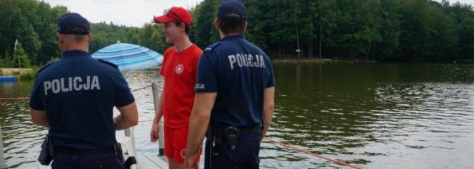 Policjanci kontrolują akweny wodne. Tym razem odwiedzili Balaton - Serwis informacyjny z Wodzisławia Śląskiego - naszwodzislaw.com