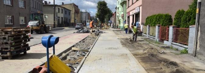 Remont ulicy Plebiscytowej w Rydułtowach potrwa dłużej niż planowano  - Serwis informacyjny z Wodzisławia Śląskiego - naszwodzislaw.com