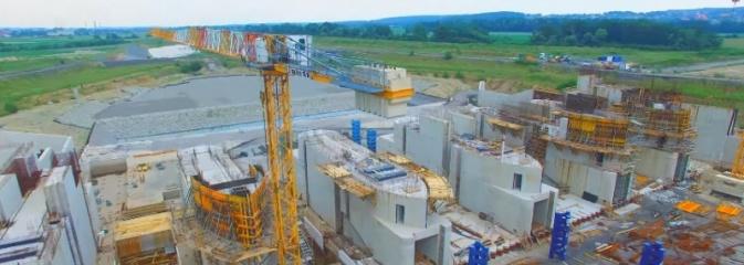 Zbiornik Racibórz. Tak dziś wygląda plac budowy WIDEO - Serwis informacyjny z Wodzisławia Śląskiego - naszwodzislaw.com