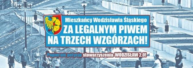 Piwko pod chmruką na Trzech Wzgórzach. Stowarzyszenie Wodzisław 2.0 zbiera podpisy pod petycją - Serwis informacyjny z Wodzisławia Śląskiego - naszwodzislaw.com