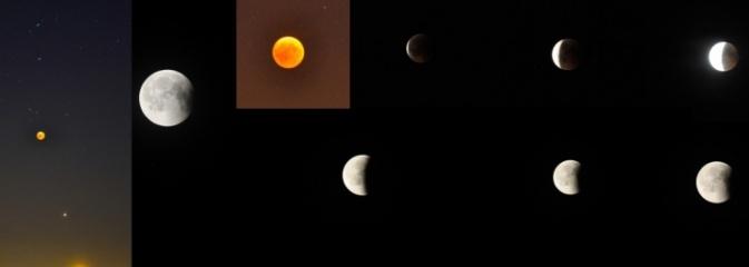 Zaćmienie Księżyca na naszym nocnym niebie - Serwis informacyjny z Wodzisławia Śląskiego - naszwodzislaw.com