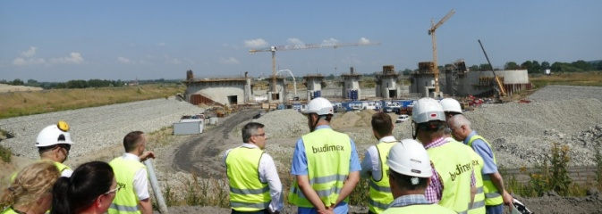 Lubomia-Racibórz. Wojewoda wizytował teren budowy zbiornika - Serwis informacyjny z Wodzisławia Śląskiego - naszwodzislaw.com