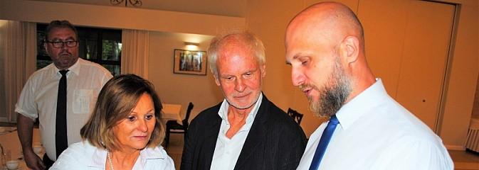 Wnuk Hansa Poelziga odwiedził Radlin - Serwis informacyjny z Wodzisławia Śląskiego - naszwodzislaw.com