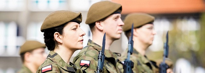 Pierwsza przysięga wojskowa śląskich Terytorialsów - Serwis informacyjny z Wodzisławia Śląskiego - naszwodzislaw.com