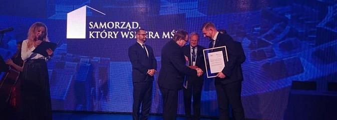 Prestiżowa nagroda dla miasta i prezydenta - Serwis informacyjny z Wodzisławia Śląskiego - naszwodzislaw.com