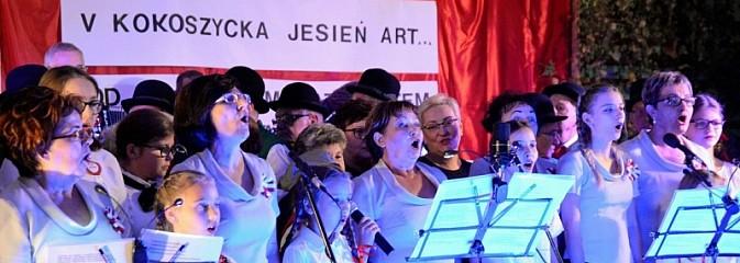 W Kokoszycach było artystycznie i patriotycznie - Serwis informacyjny z Wodzisławia Śląskiego - naszwodzislaw.com