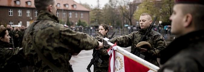Przysięga żołnierzy 13. Śląskiej Brygady Obrony Terytorialnej - Serwis informacyjny z Wodzisławia Śląskiego - naszwodzislaw.com