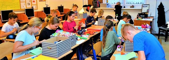 W Krostoszowicach dzieci uczyły się patriotyzmu - Serwis informacyjny z Wodzisławia Śląskiego - naszwodzislaw.com