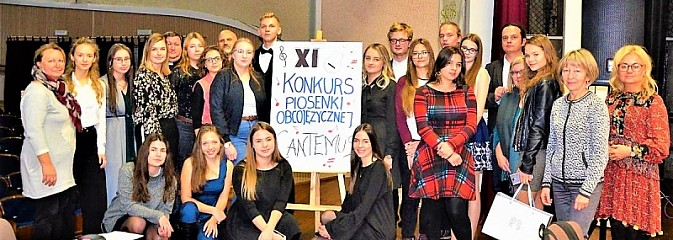XI Edycja Powiatowego Konkursu Piosenki Obcojęzycznej Cantemus za nami - Serwis informacyjny z Wodzisławia Śląskiego - naszwodzislaw.com