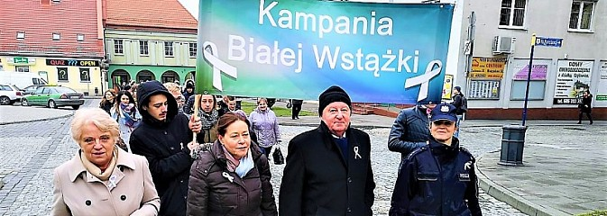 Biały marsz po raz drugi przeszedł ulicami Wodzisławia Śląskiego - Serwis informacyjny z Wodzisławia Śląskiego - naszwodzislaw.com