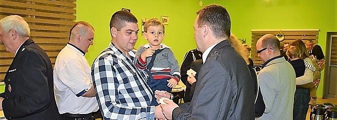 Ochotnicza Straż Pożarna w Mszanie na spotkaniu opłatkowym - Serwis informacyjny z Wodzisławia Śląskiego - naszwodzislaw.com