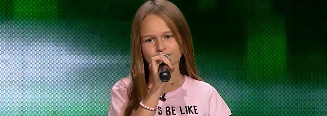 Młoda mieszkanka Rydułtów zachwyciła jurorów The Voice Kids - Serwis informacyjny z Wodzisławia Śląskiego - naszwodzislaw.com