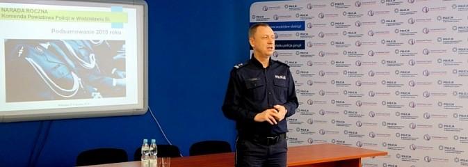 Wodzisławscy policjanci podsumowali rok 2018 - Serwis informacyjny z Wodzisławia Śląskiego - naszwodzislaw.com