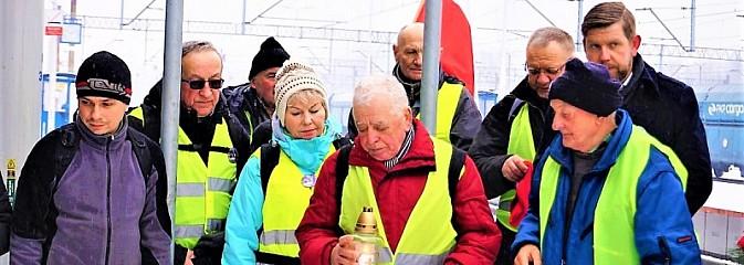 Miejskie obchody 74. rocznicy Marszu Śmierci - Serwis informacyjny z Wodzisławia Śląskiego - naszwodzislaw.com
