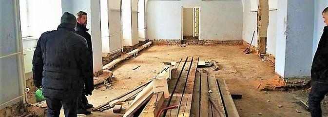 Trwa remont Pałacu Dietrichsteinów - Serwis informacyjny z Wodzisławia Śląskiego - naszwodzislaw.com