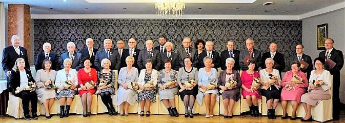 Małżonkowie świętowali wyjątkowe jubileusze - Serwis informacyjny z Wodzisławia Śląskiego - naszwodzislaw.com