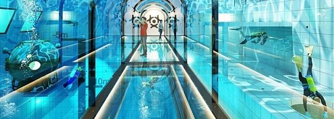 Takie cudo przydałoby się w Wodzisławiu. Powstaje najgłębszy basen w Polsce  - Serwis informacyjny z Wodzisławia Śląskiego - naszwodzislaw.com