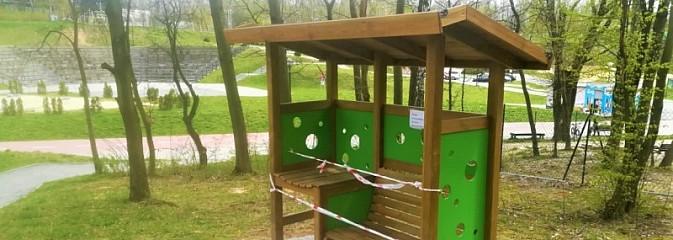 Ławka dla matek karmiących stanęła w Rodzinnym Park Rozrywki - Serwis informacyjny z Wodzisławia Śląskiego - naszwodzislaw.com
