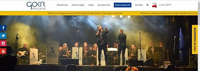 Mszański GOKiR ma nową stronę internetową - Serwis informacyjny z Wodzisławia Śląskiego - naszwodzislaw.com