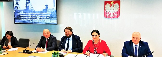 Rewitalizacja obszarów górniczych nabiera tempa - Serwis informacyjny z Wodzisławia Śląskiego - naszwodzislaw.com