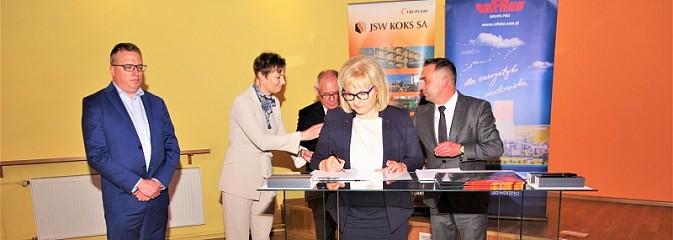 Umowa na budowę bloku energetycznego w koksowni Radlin podpisana - Serwis informacyjny z Wodzisławia Śląskiego - naszwodzislaw.com